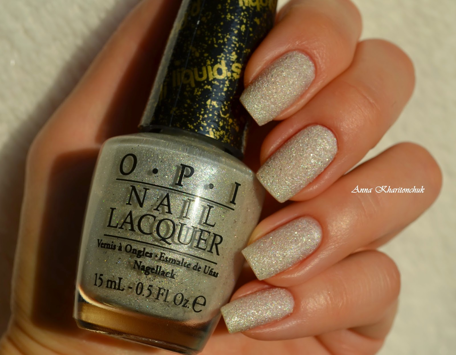 Opi Solitaire, Maybelline Colo Rama # 51 и стемпинг с пластиной BP-21