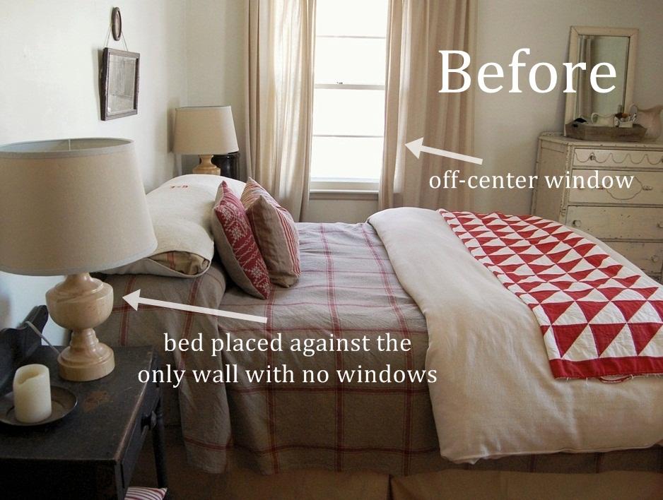 bed in front of window no headboard 1
