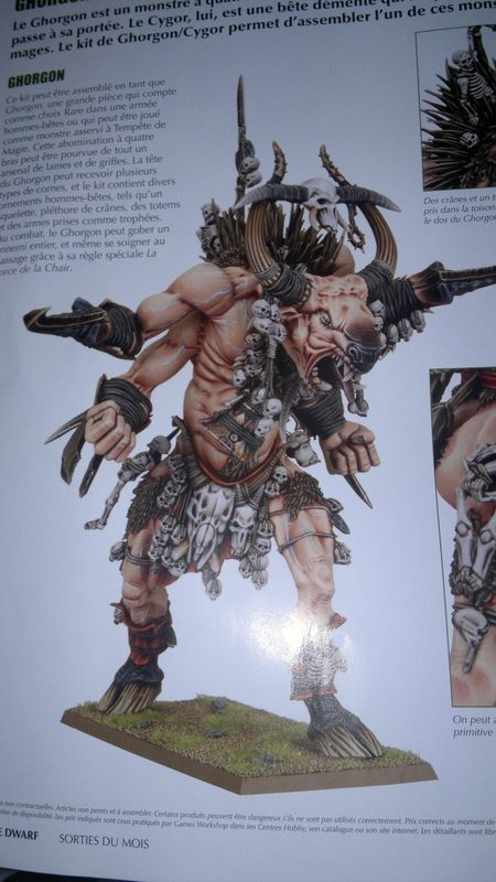 Official GW Ghorgon painted model photo