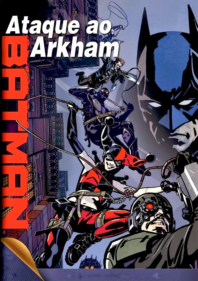 Batman: Ataque Ao Arkham – Legendado (2014)