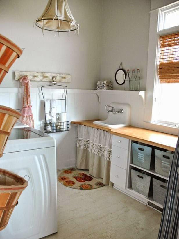 La maison 17 decoraci n interiorismo un cuarto de lavado for Lavaderos practicos