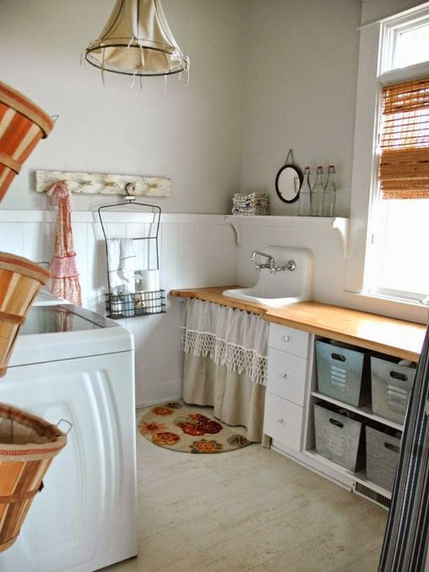 La maison 17 decoraci n interiorismo un cuarto de lavado for Lavadero terraza