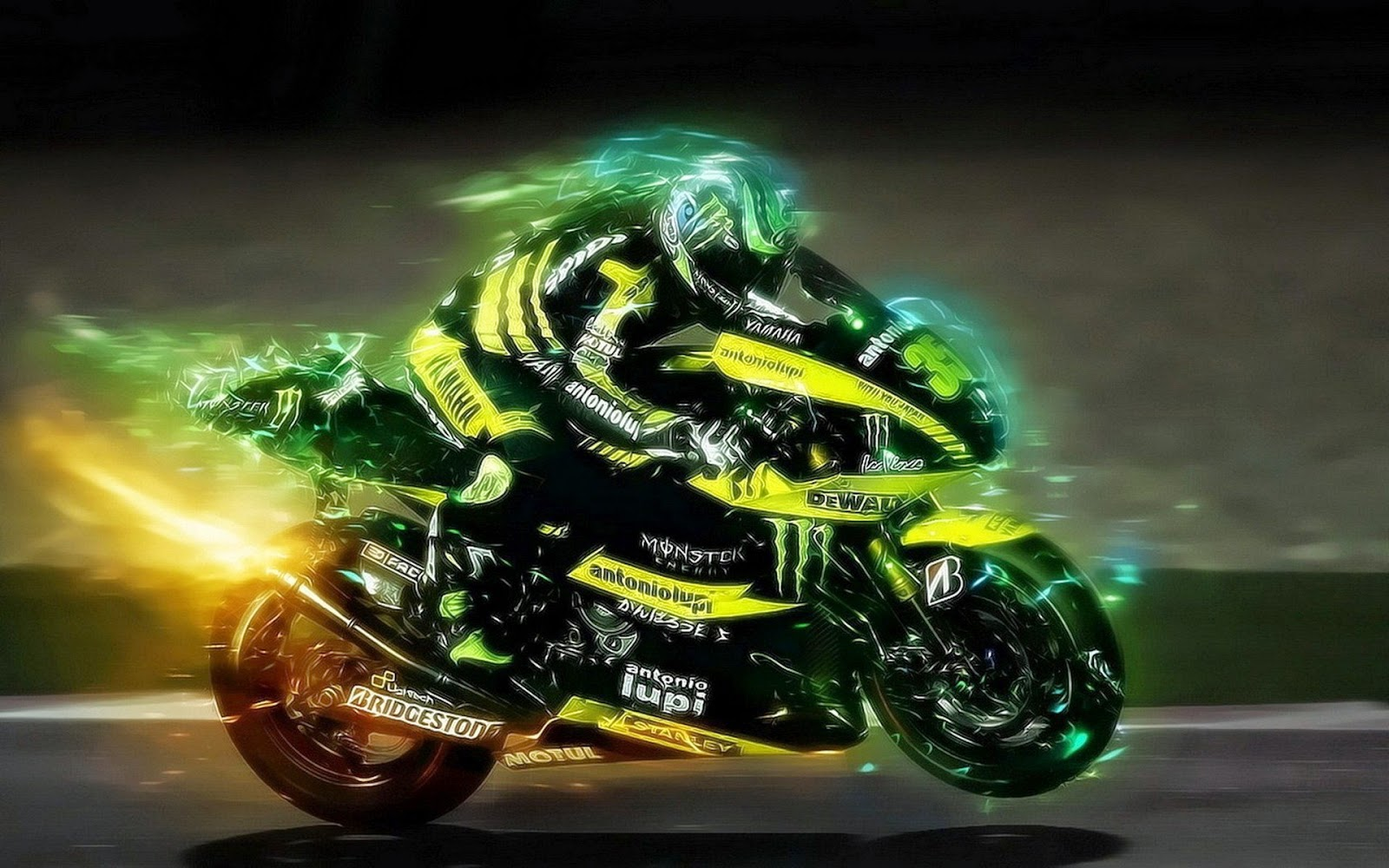 Wallpaper MotoGp Yamaya 2015