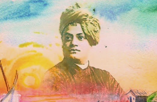 Swami Vivekananda painting