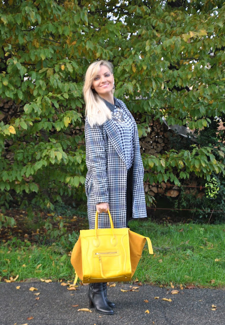 outfit borsa gialla come abbinare la borsa gialla abbinamenti borsa gialla borsa celine come abbinare il giallo abbinamenti giallo mariafelicia magno fashion blogger colorblock by felym fashion blog italiani fashion blogger bergamo fashion blogger milano how to wear yellow yellow bag outfit how to combine yellow winter bags fashion bloggers italy street style lookbook
