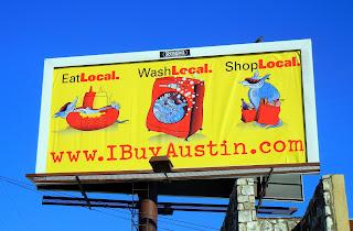 Billboard advertising Austin