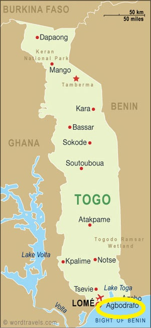 Agbodrafo, Togo