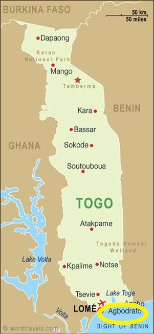 Agbodrafo, Togo