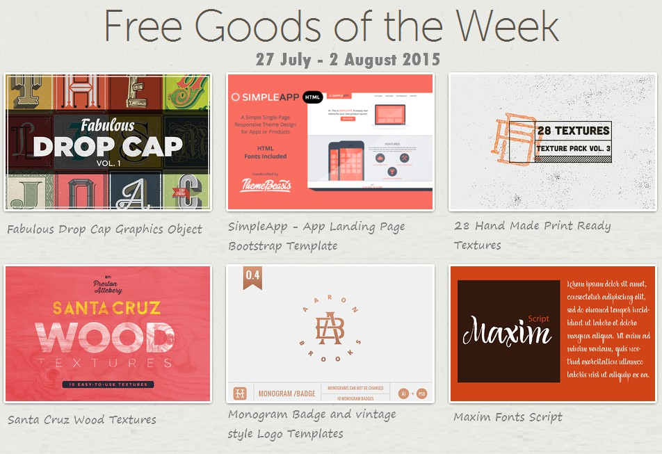Download Creative Market Free Goods