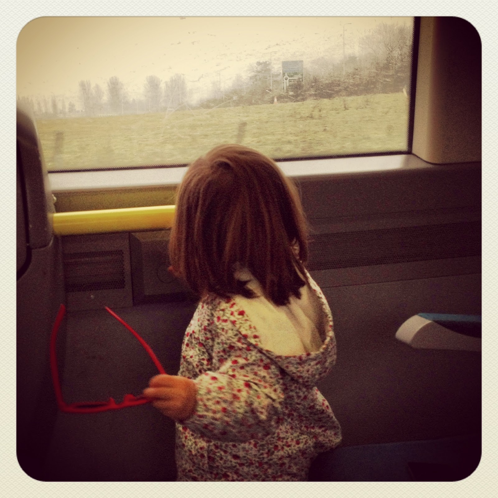 toddler train trip