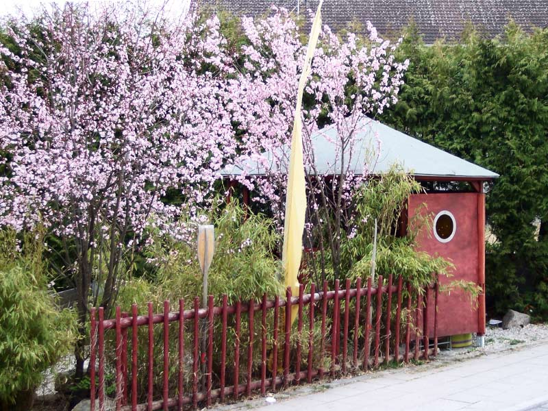 Gartenblog geniesser garten sichtschutz - Bambus gartenhaus ...