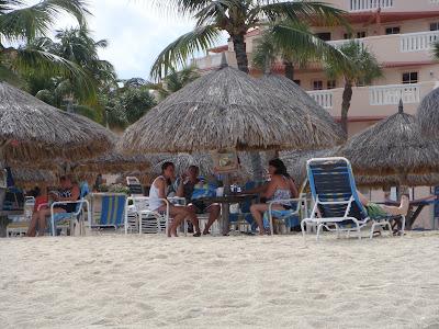 Chickie at Playa Linda, Aruba