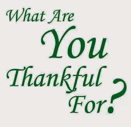 We all have so much in our lives to be thankful for--but sometimes,  we forget these blessings.