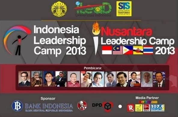 "NUSANTARA LEADERSHIP CAMP 2013. "" Dialog Inspiratif"""
