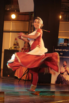 Kathak dancer Sharmistha Mukherjee