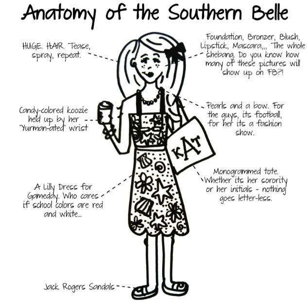 Southern Belle via Darling Cashmere