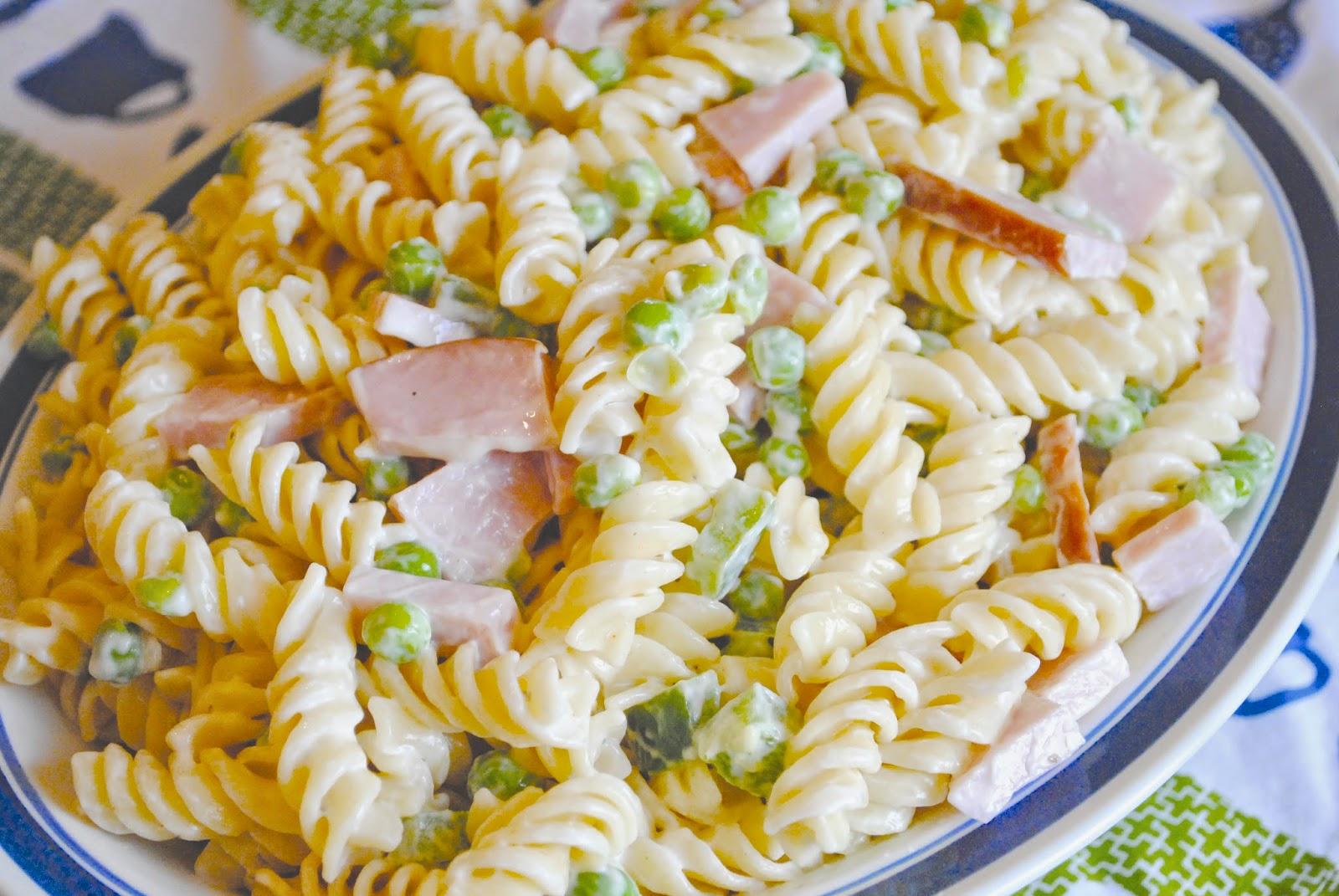 recipe: ruby tuesday ham and pea pasta salad recipe [8]