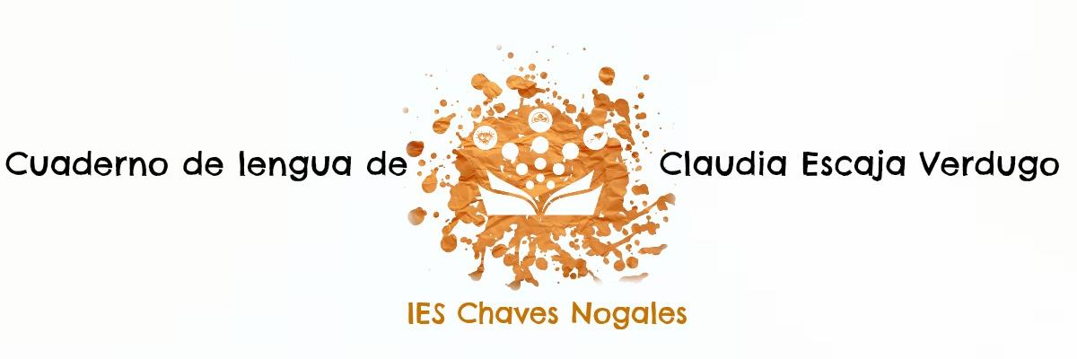 Cuaderno de lengua de Claudia Escaja