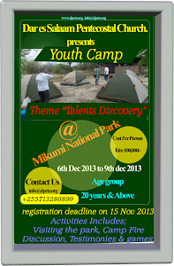 DPC YOUTH CAMP FROM 06th DEC to 09th DEC 2013 REGISTER NOW!