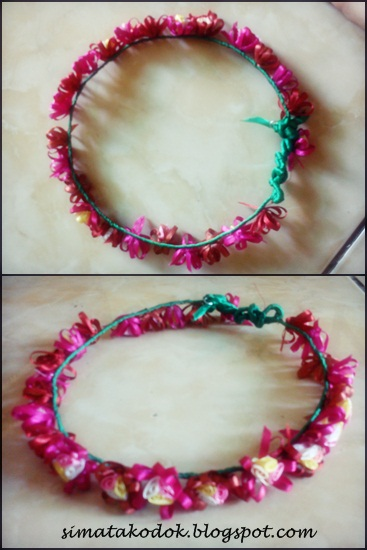 Flowercrown made by me :)