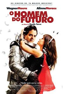 Wagner Moura e Aline Moraes em O Homem do Futuro
