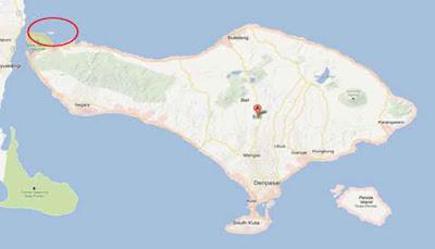 Peta Pulau Menjangan