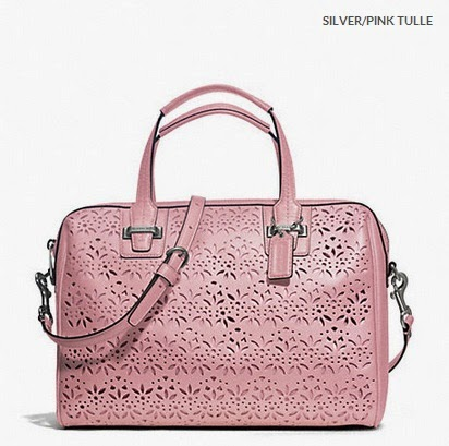 COACH Taylor Eyelet Leather Satchel 27392