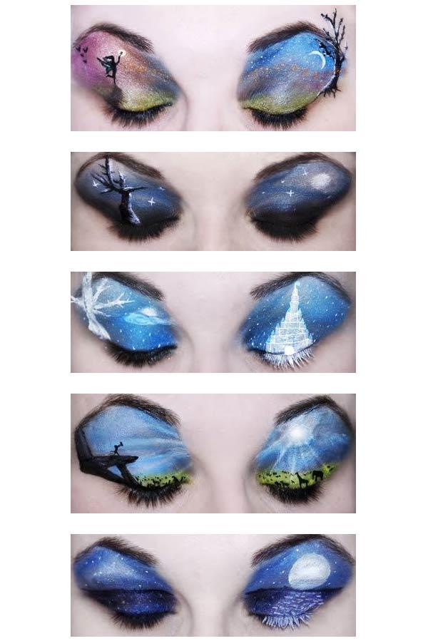 maquillaje parpados