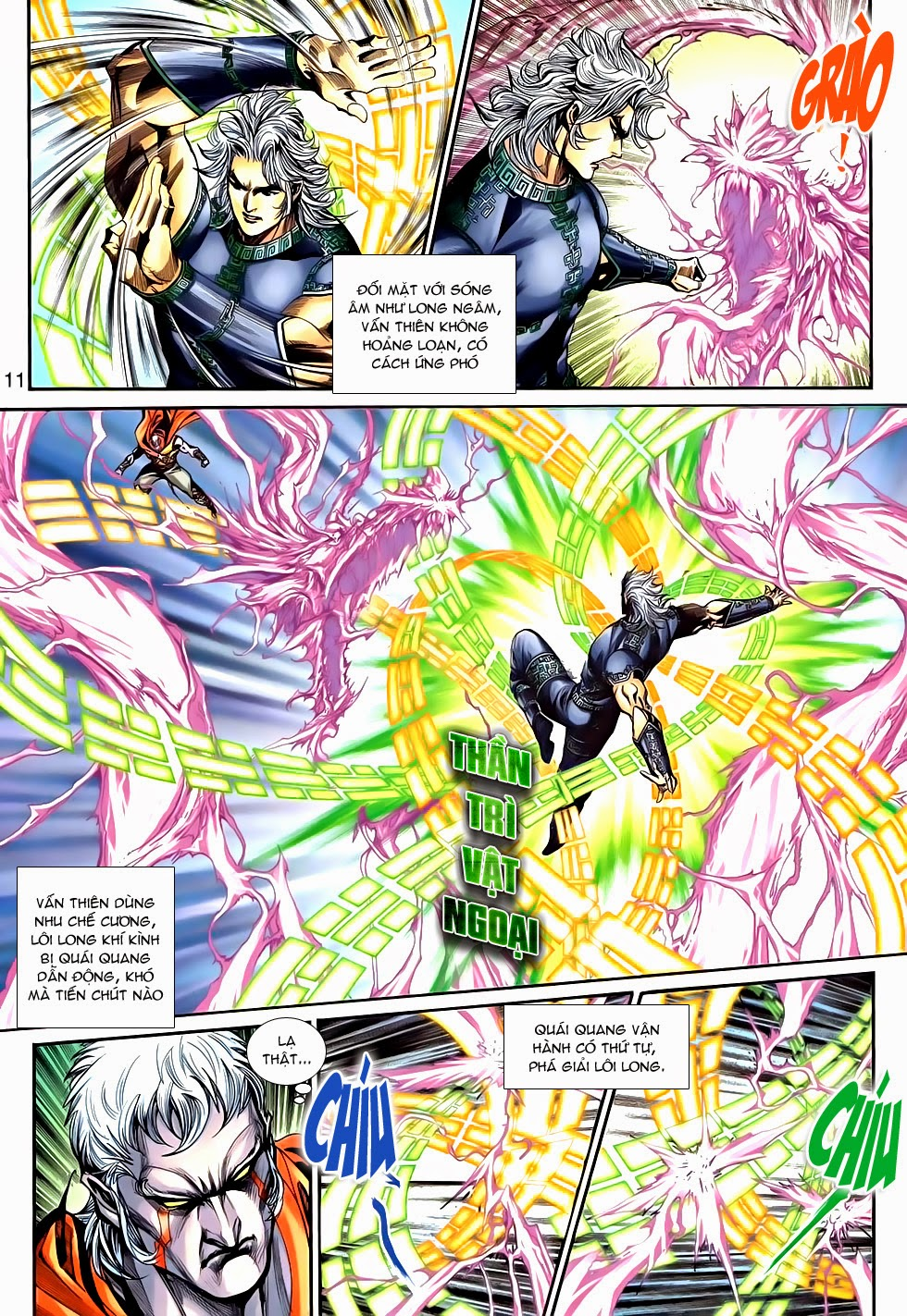 Thần Binh Tiền Truyện 2 chap 21 Trang 11 - Mangak.info