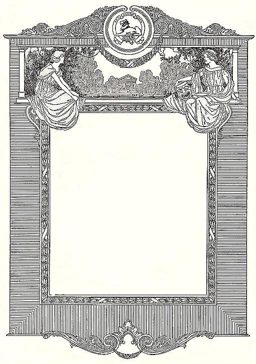 1920s Border Clipart Frames free clip art for