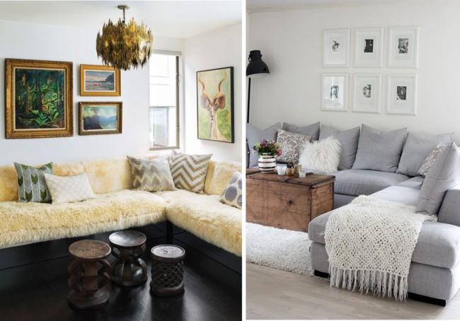 Sala Pequena Sofa De Canto ~ Canto sala decoracao