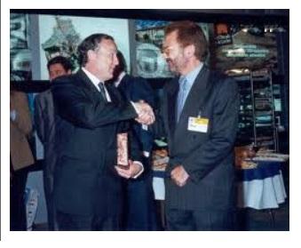 Con José María Álvarez del Manzano, entonces Alcalde de Madrid