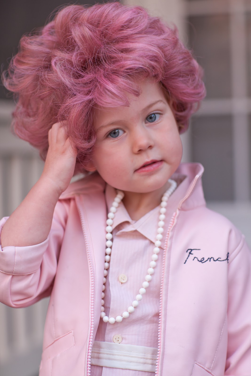 frenchie wig from grease white wigs online
