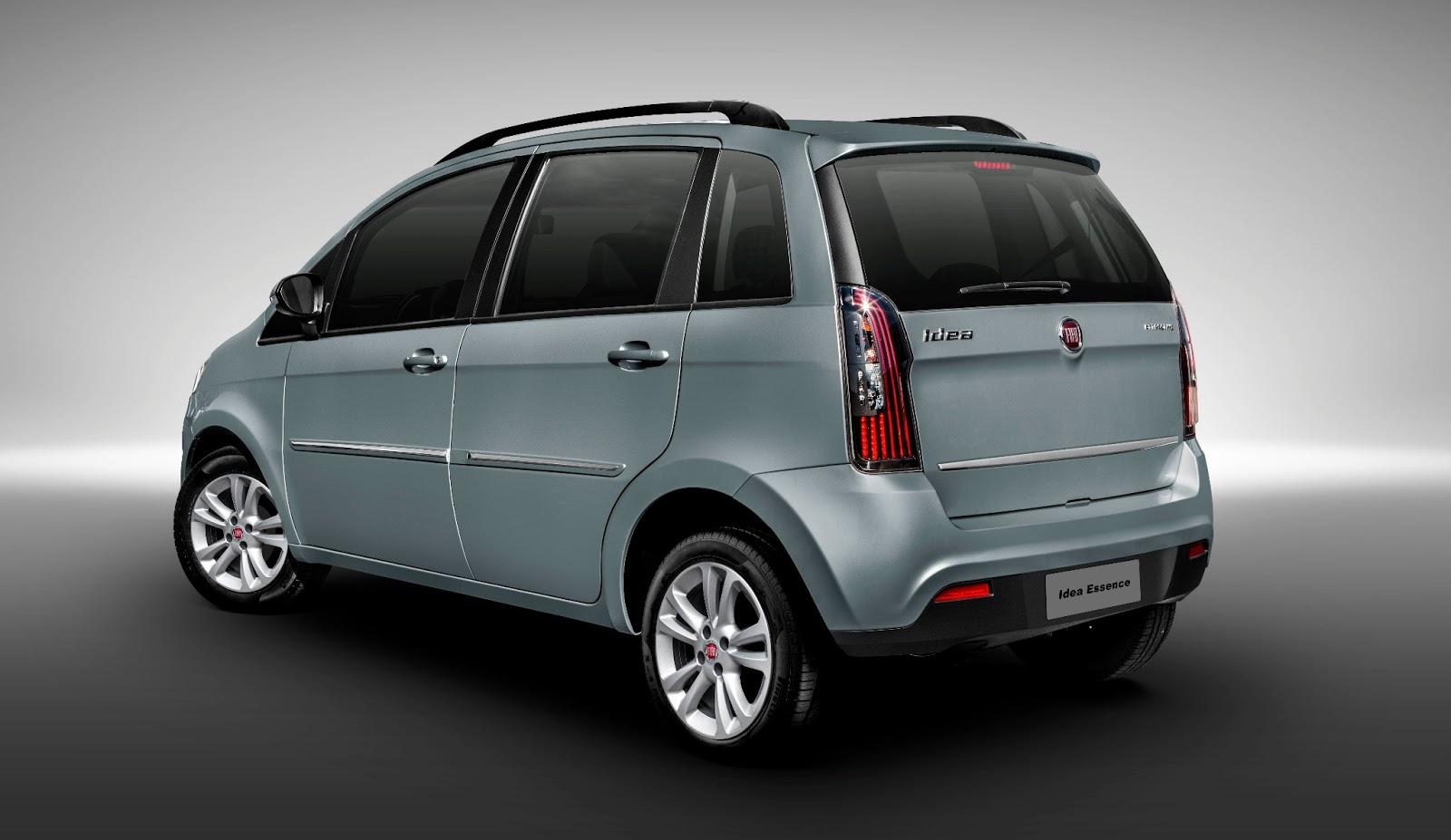 Fiat Idea recebe novidades na linha 2014