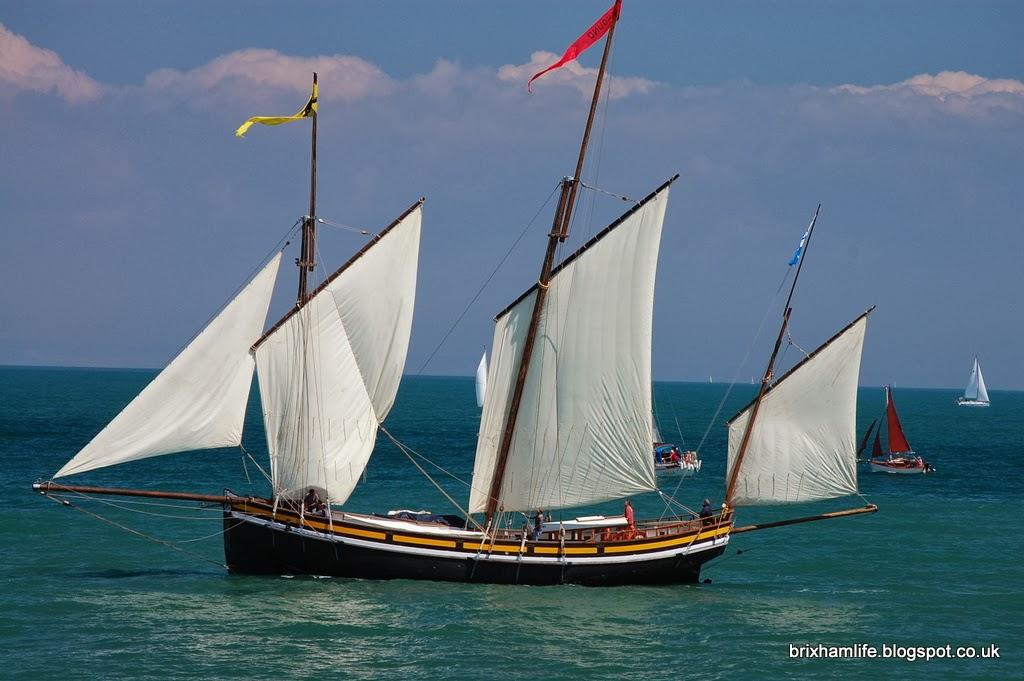Brixhams Heritage Boat Race