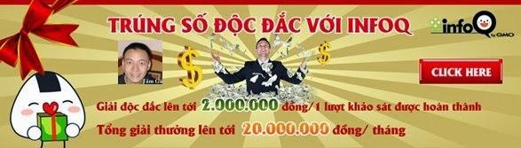 đăng ký tham gia trúng độc đắc với infoq vn www.c10mt.com