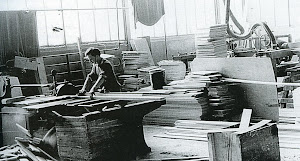 Work in the Rigby Furniture Factory 1960