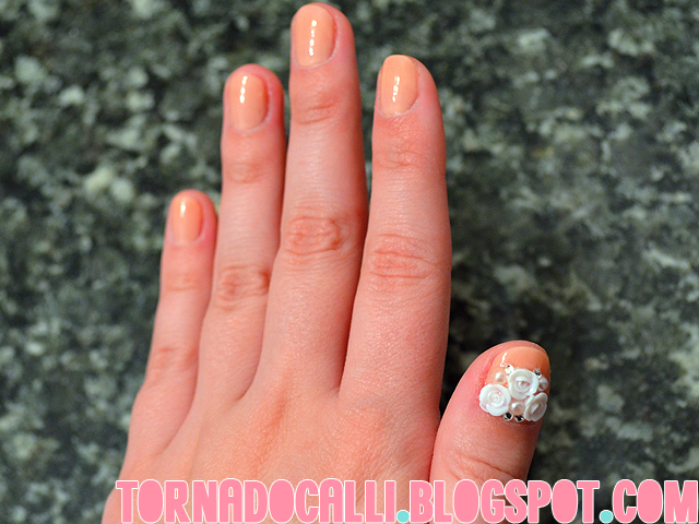 The Fascinating Glamour 3d flower nails 2015 Photograph