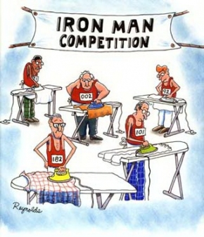 morti durante triathlon - pericoli triathlon - iron man vignetta