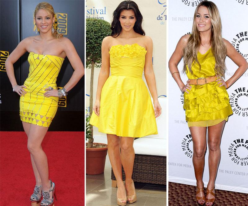 vestido amarelo Qual makeup usar com vestido amarelo?!