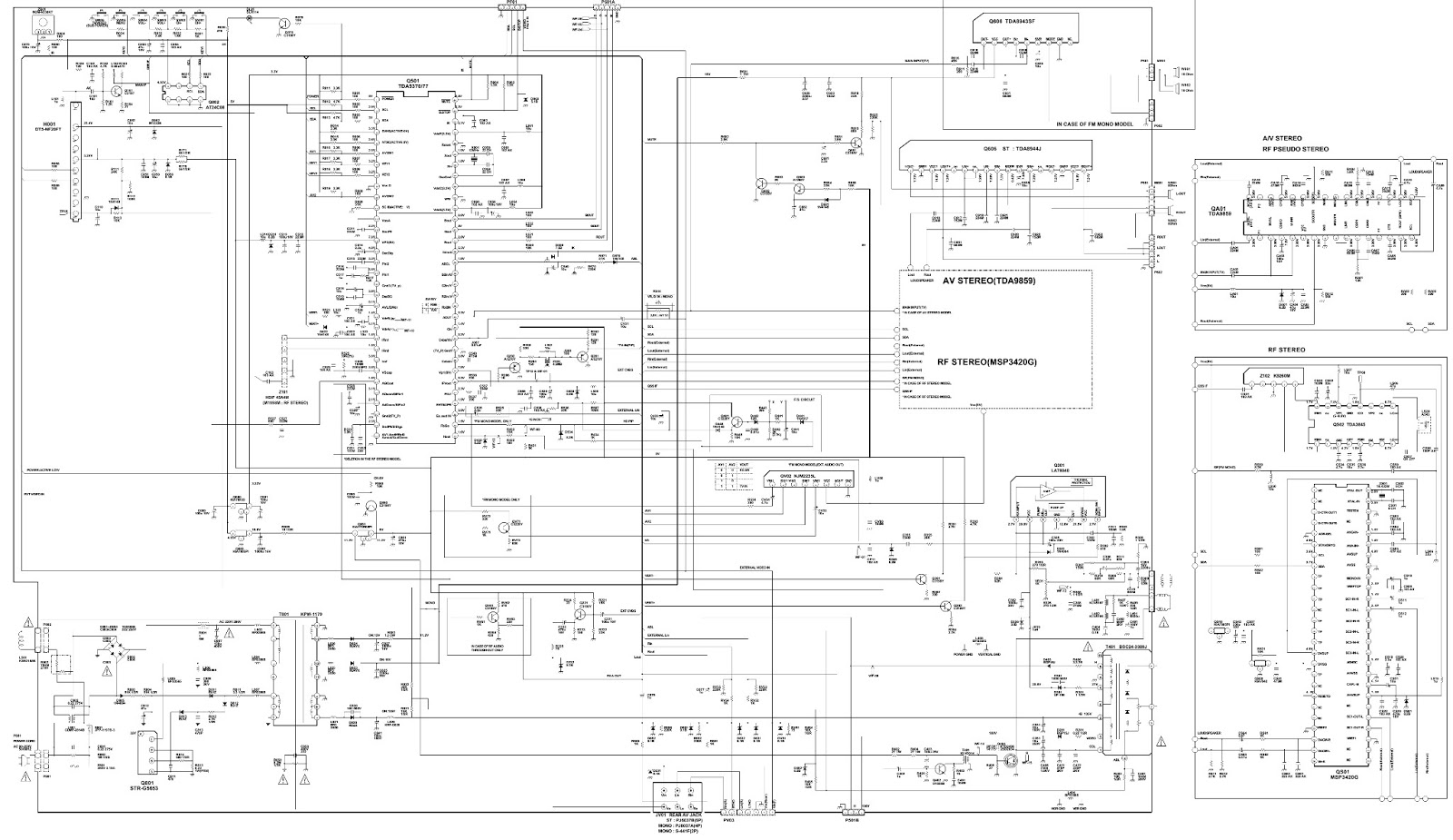 t v circuit diagram free download wiring library Electronic Circuit Diagram Software Free troubleshooting crt tv no picture audio ok white screen