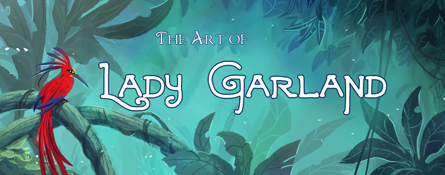 The Art of Lady Garland