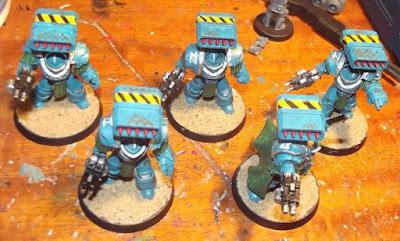 Cyclone Missile Launcher B FW Iron Warriors Legion Tyrant Siege Terminators