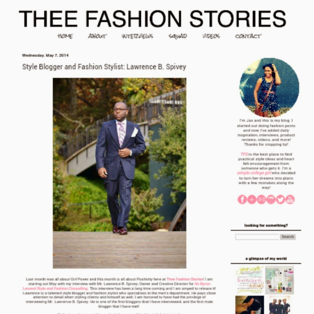Thee Fashion Stories Interview: Sir Byron Laurent