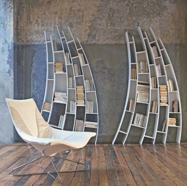 Unusual Bookcases 15 creative bookshelves and awesome bookcases - part 7.