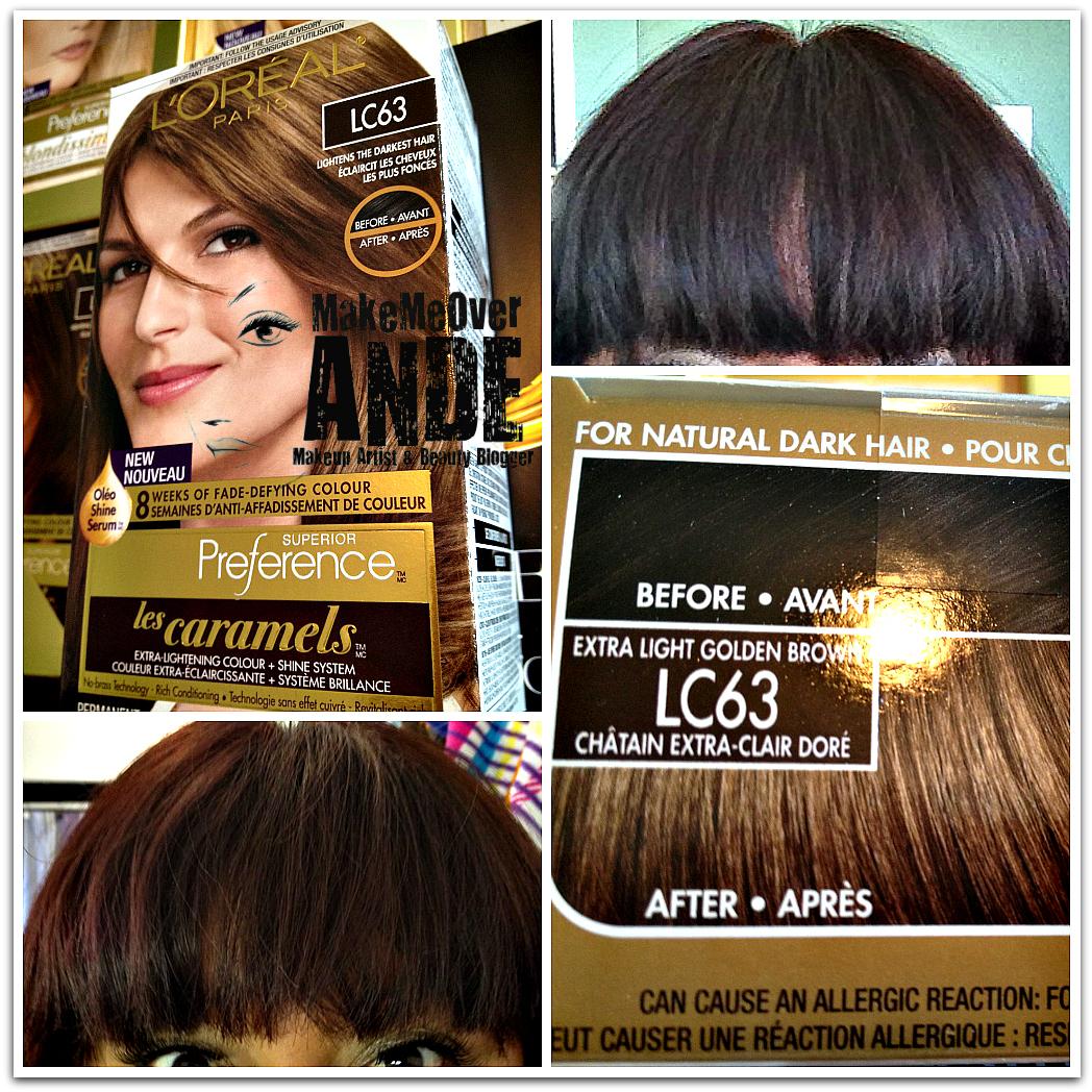 Loreal Paris Les Caramels Hair Color Thebeautyblog