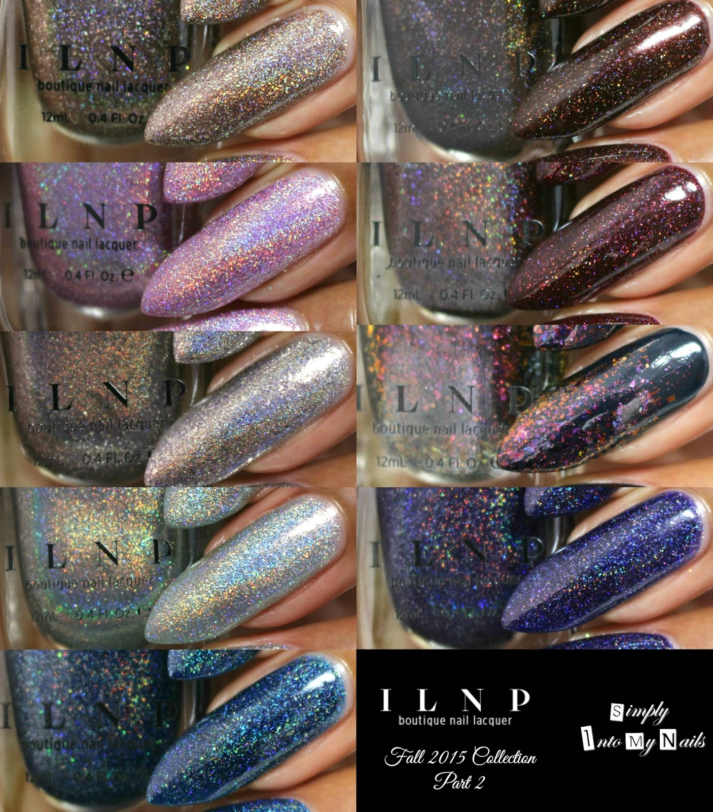ILNP Fall 2015 Collection - Part 2 | Simply Into My NAILS