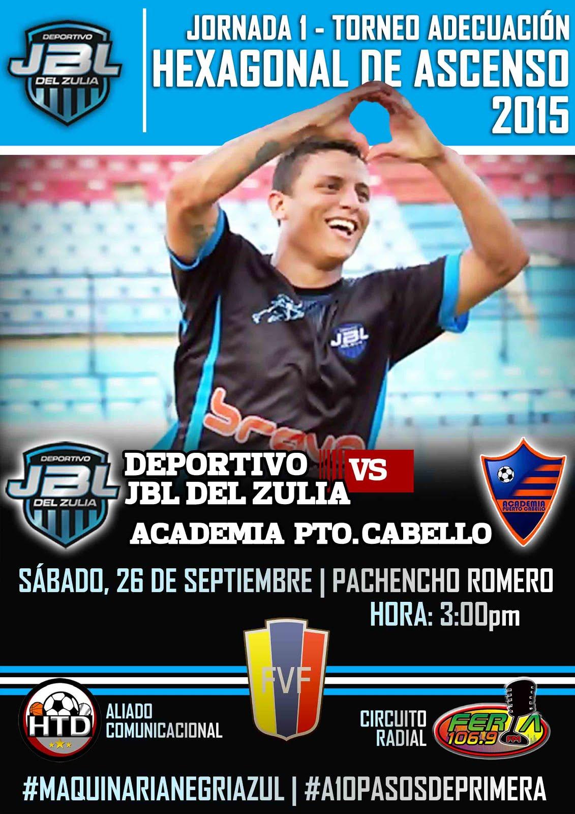 J1 Hexagonal Victoria 2-1 vs Academia Puerto Cabello