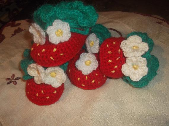 Crochet Strawberry Shortcake Doll Pattern Rare And Retired ...