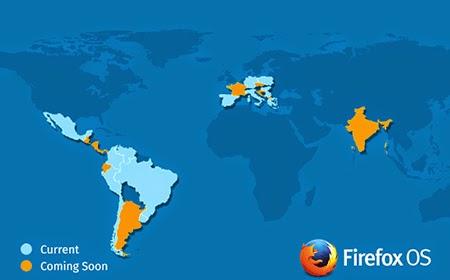 Firefox OS 'un Yeni Pazarları